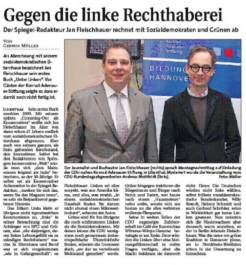 2013 02 06 Fleischhauer Hamme Report