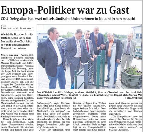 2013 08 25 Weser Report Balz