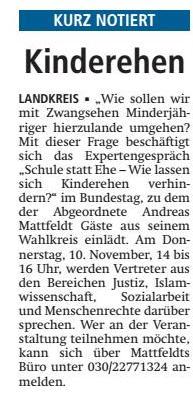 2016 11 08 VAZ VER Mattfeld Kinderehen
