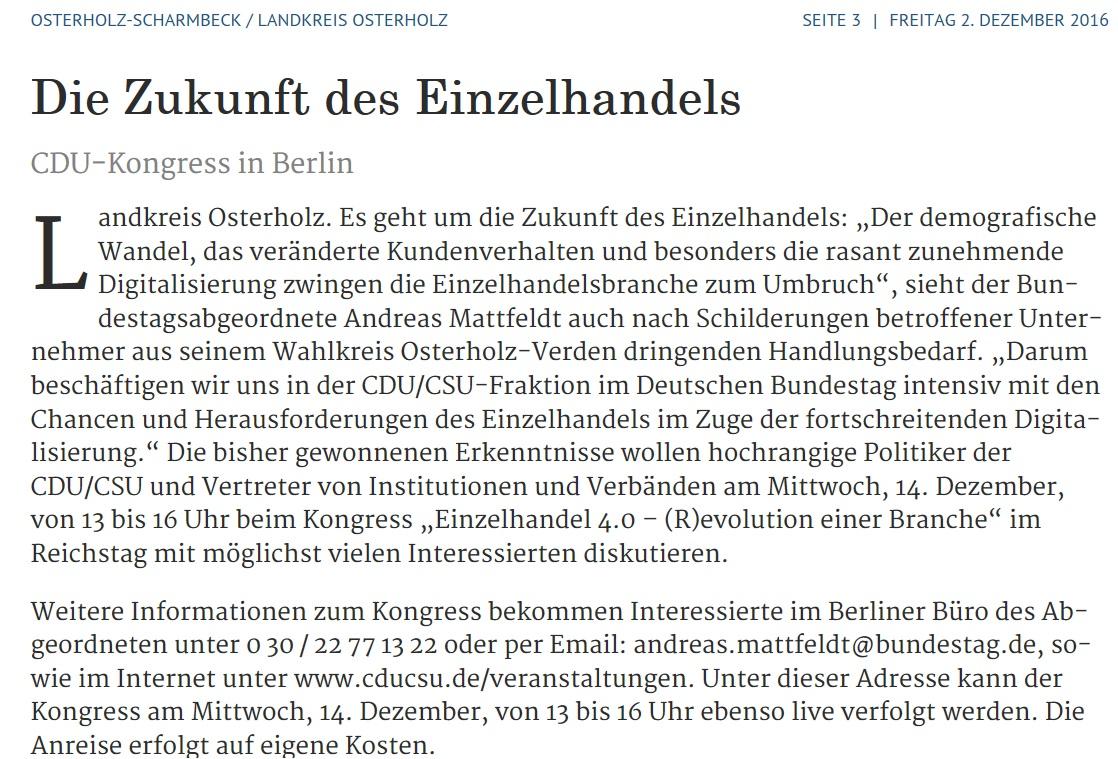 CDU-Kongress