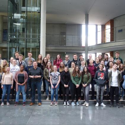 Von Allgemein bis Aktuell: Politikkurse des Lilienthaler Gymnasiums informieren sich