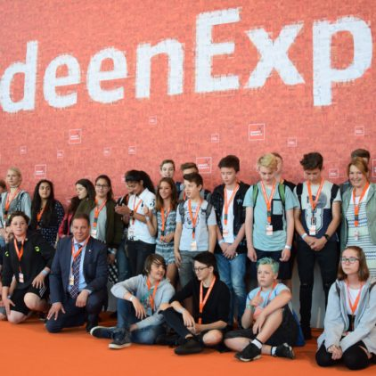 Ideen für die Welt von morgen: Zusammen mit Verdener Schülerinnen und Schülern auf der IdeenExpo in Hannover