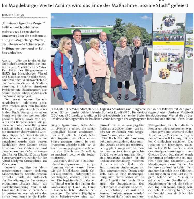 """Der """"Ankommensstadtteil"""" grünt"""