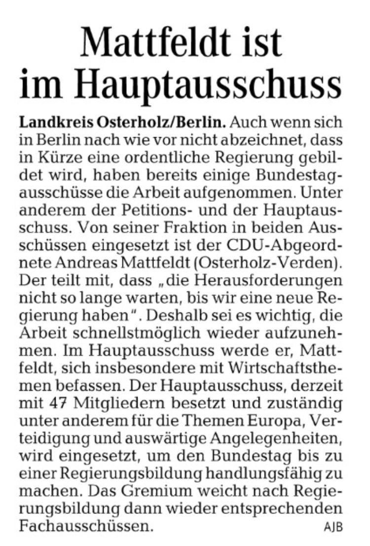 Neuer Bundestag
