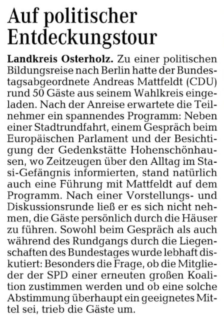 Lebhafte Diskussion über die Politik in Berlin