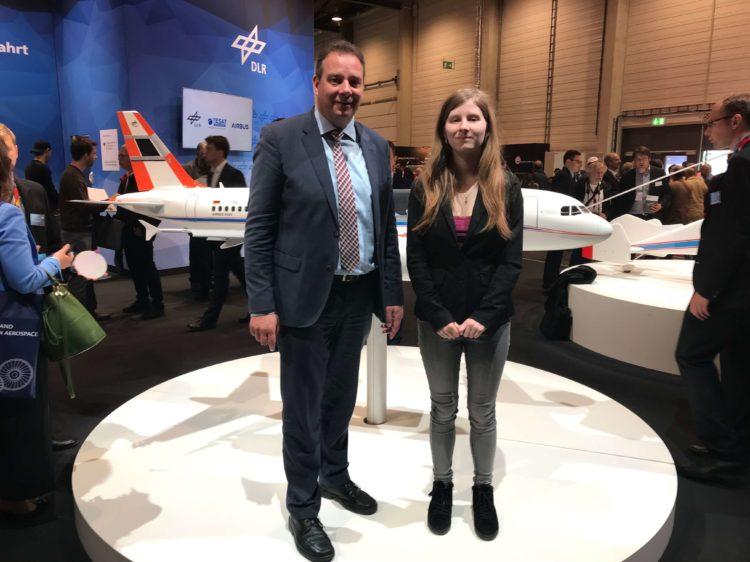 Zukunftstag in Berlin – Jessika Häfker aus Grasberg zu Besuch im Bundestag