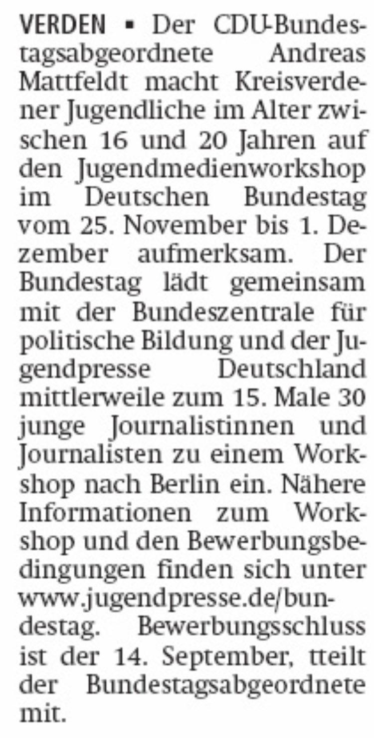 Jugendliche als Journalisten