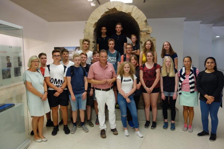 Gymnasium aus Osterholz-Scharmbeck zu Besuch