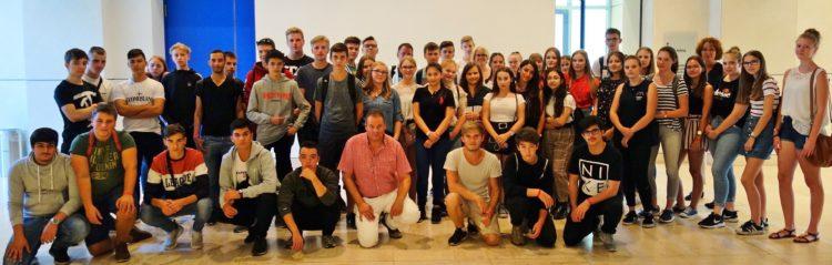 Verdener Oberschüler zu Besuch in Berlin