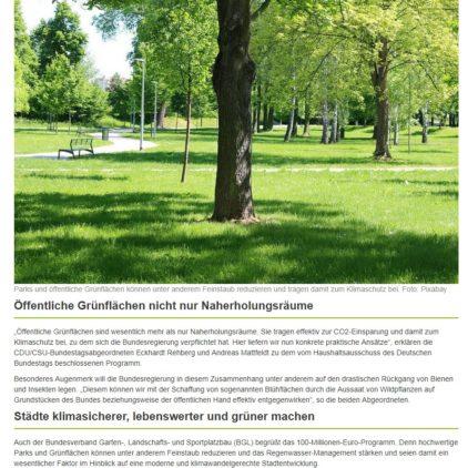 Bundesförderung für Park- und Grünflächen