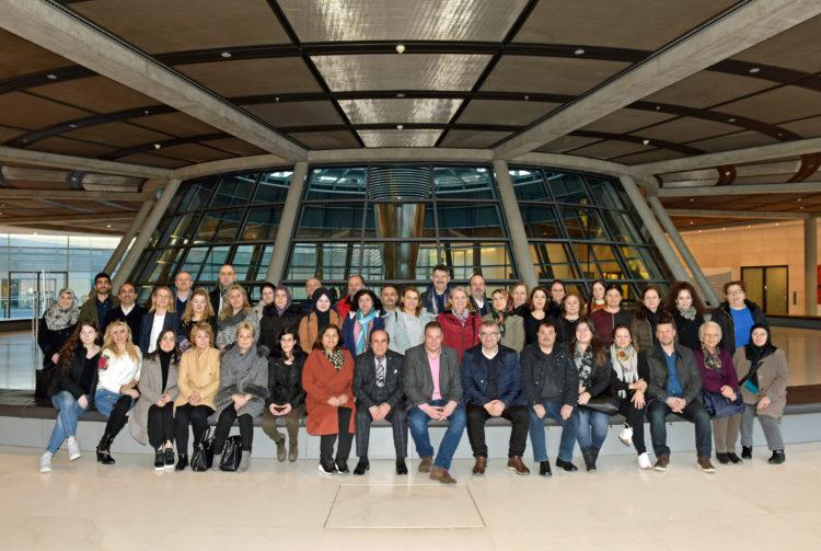 Der Türkische Elternbund Verden zu Besuch in Berlin
