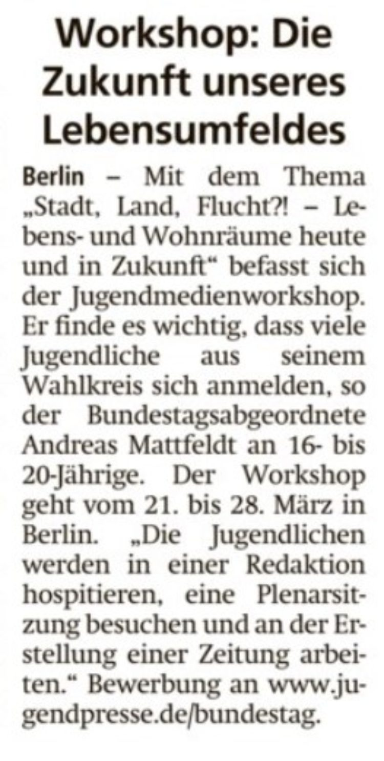 Jugendmedien-Workshop