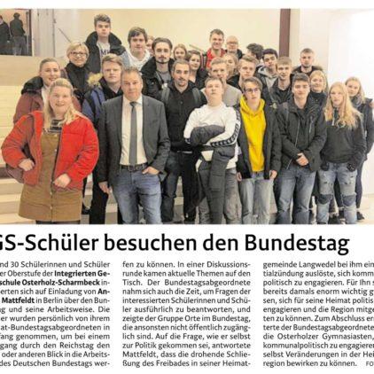 Rundgang durch den Reichstag mit Mattfeldt