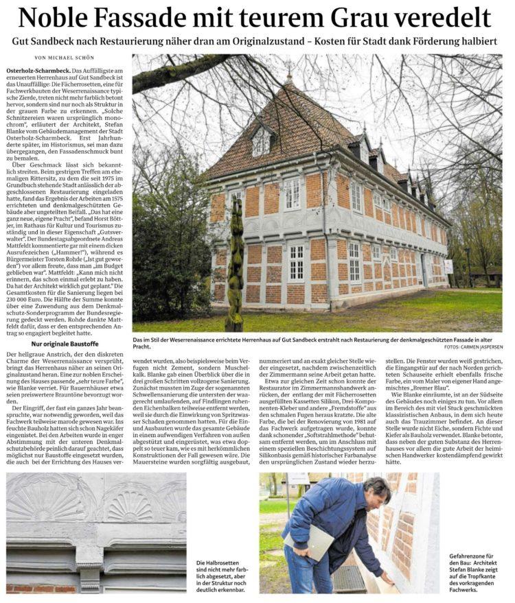 Bund hilft bei Sanierung denkmalgeschützter Gebäude