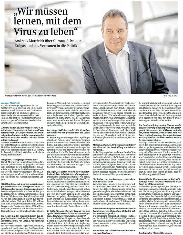 Im Interview mit Andreas Mattfeldt