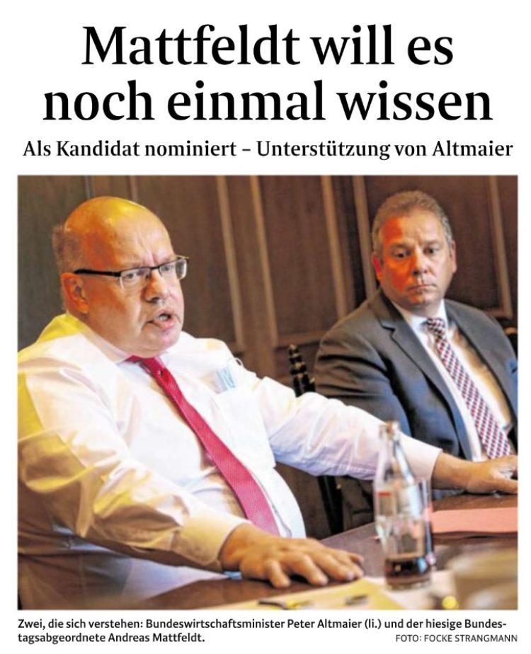 Erneut Richtung Bundestag