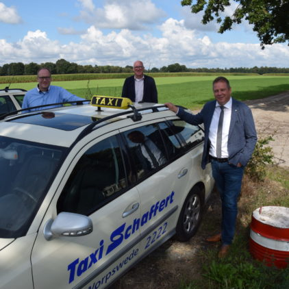Wir brauchen faire Wettbewerbsbedingungen für das Taxigewerbe im ländlichen Raum