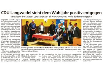 CDU-Mitgliederversammlung in Langwedel