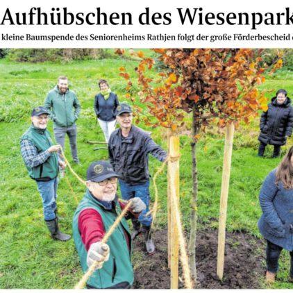 """Geld vom Bund für eine neue """"Grüne Lunge"""" in Oyten"""
