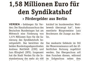 Fördergelder aus Berlin