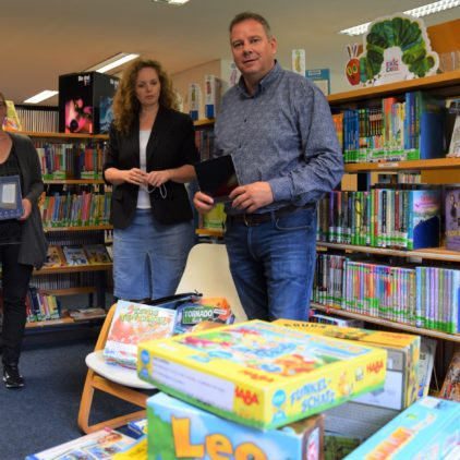 15.000 Euro Förderung für die Bibliothek in Oyten
