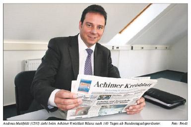 MdB Andreas Mattfeldt 100 Tage im Amt
