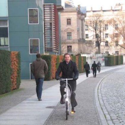 Die Tücken des Radfahrens in der Hauptstadt