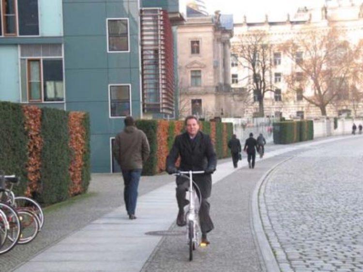 Mit dem Fahrrad von Termin zu Termin