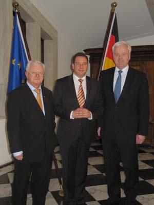Gespräch mit DRK-Präsident Dr. Rudolf Seiters