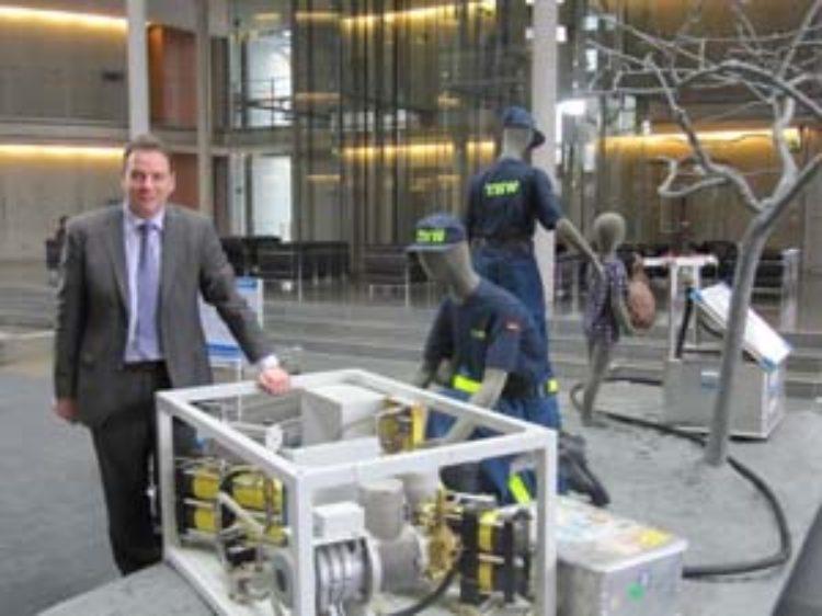 Technisches Hilfswerk im Deutschen Bundestag