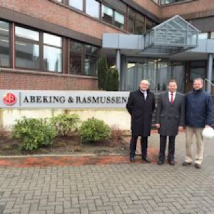 Besuch bei Abeking und Rasmussen und der Meyer Werft