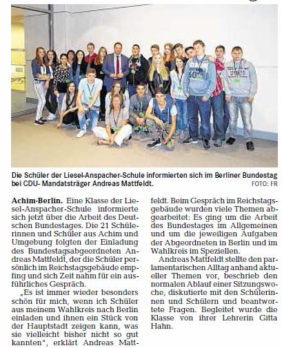 Achimer-Kurier 15 07 12 Achimer Schule