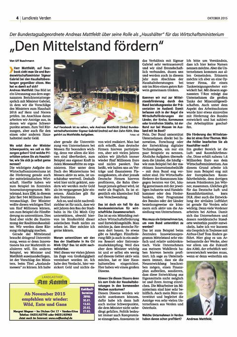 Aller-Weser Journal 15 10 16