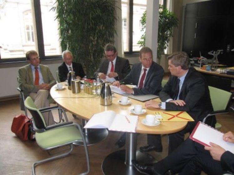 Ortsumgehung B74: Gespräch im Bundesverkehrsministerium