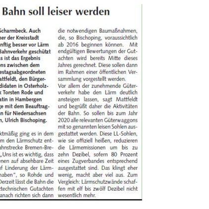 Osterholzer Anzeiger 09.02.2014