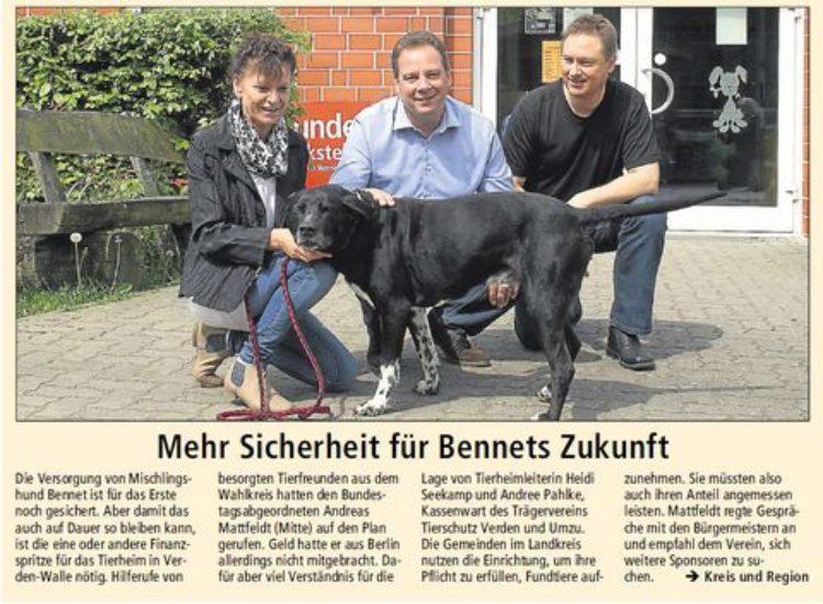 Kreiszeitung vom 13.5.2015