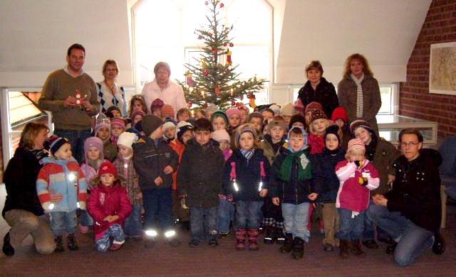 Kindergarten Daverden zu Besuch