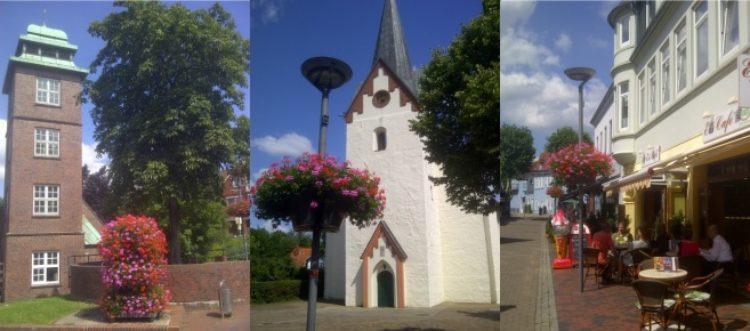 Osterholz-Scharmbeck sucht Sponsoren für Blumenampeln