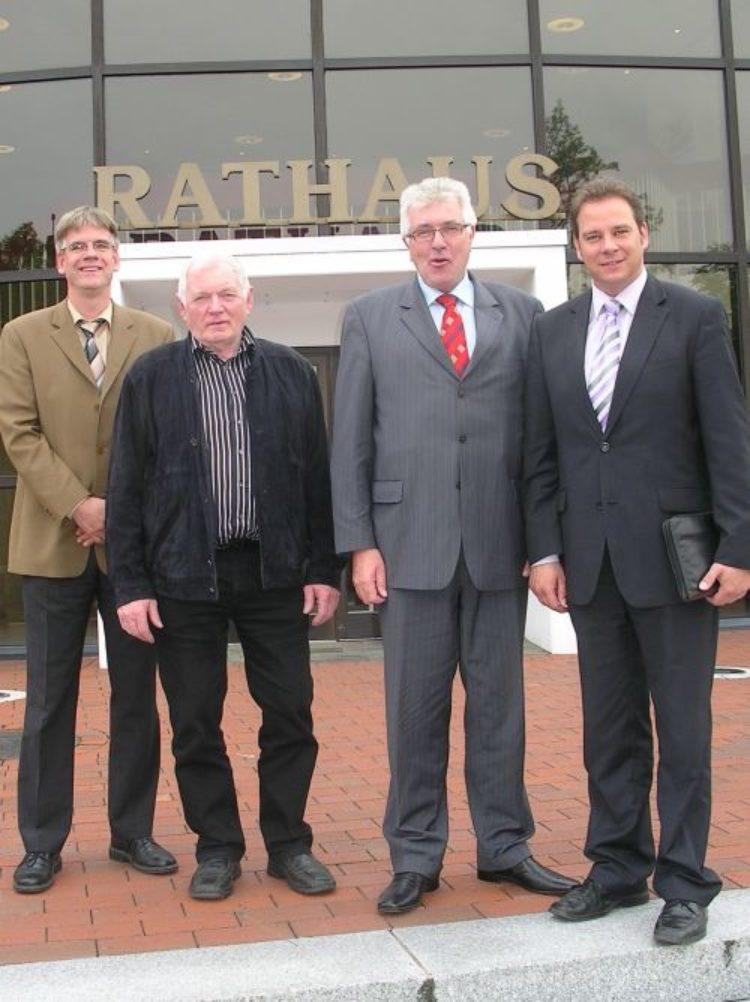 Erfahrungsaustausch der Bürgermeister von Schwanewede und Langwedel