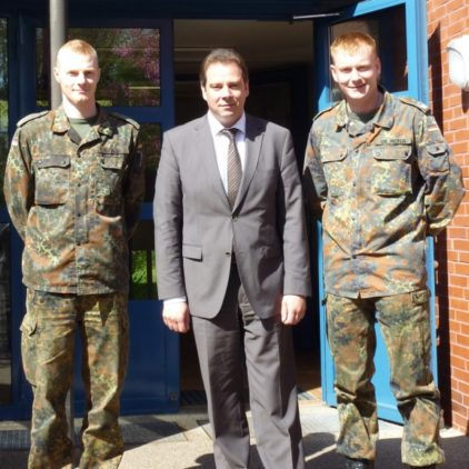MdB Mattfeldt sichert Bundeswehr volle Unterstützung zu