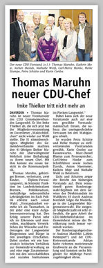 CDU Langwedel neuerVorstand