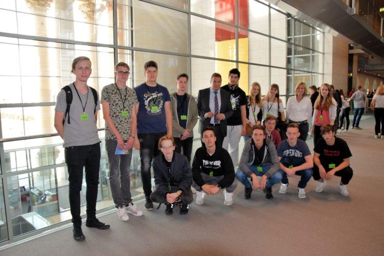 Achimer Schüler zu Besuch in Berlin