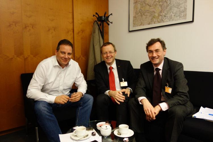 Gespräch mit ESA-Chef Wörner