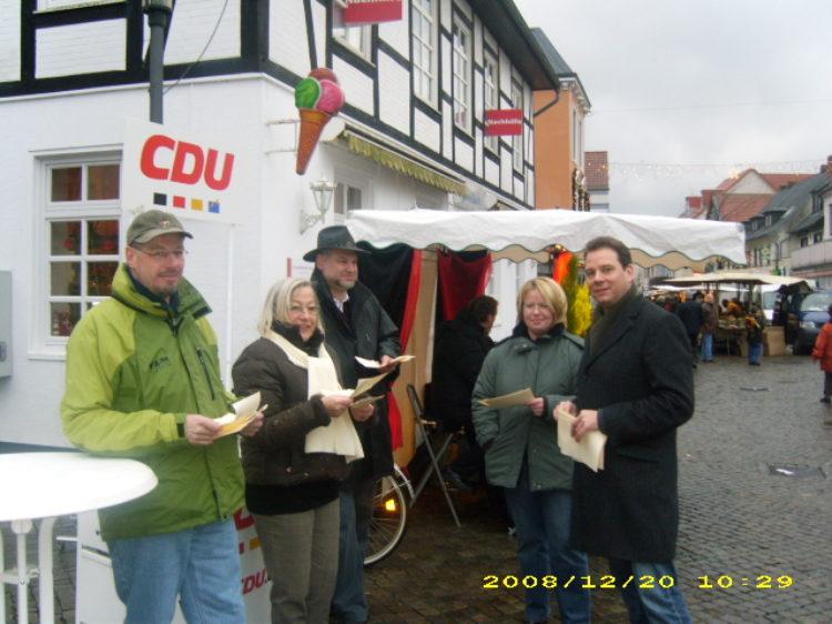 Besuch des Achimer Wochenmarktes