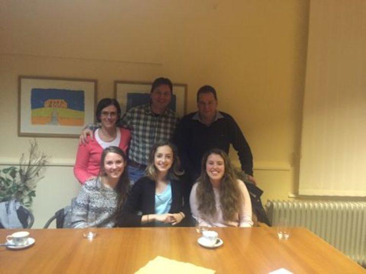 Treffen mit PPP-Stipendiatin Gigi Nibbelink