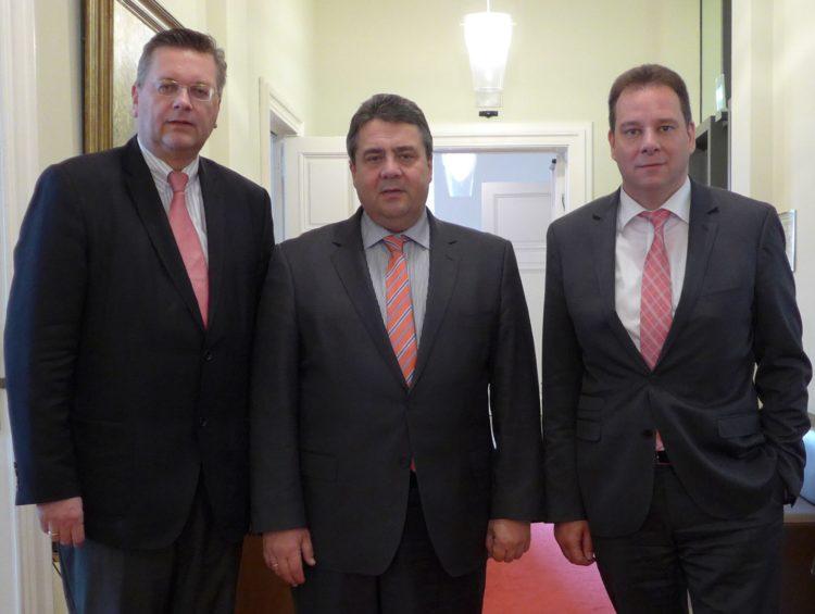 Gesetz zur Erdgasförderung muss jetzt kommen: Gespräch mit Bundeswirtschaftsminister Sigmar Gabriel
