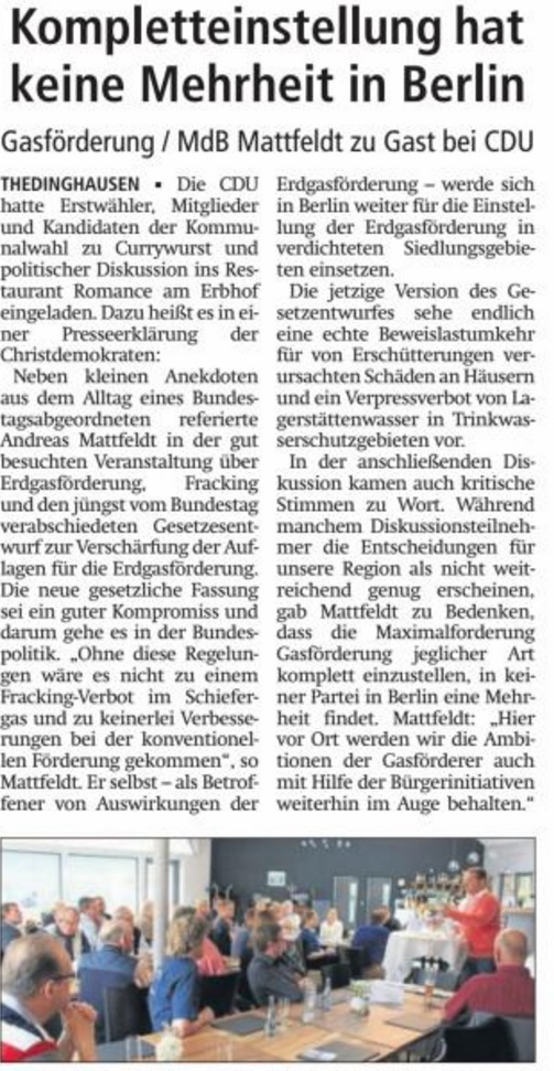 HP VAZ 25.07.16 Mattfeldt in Theding