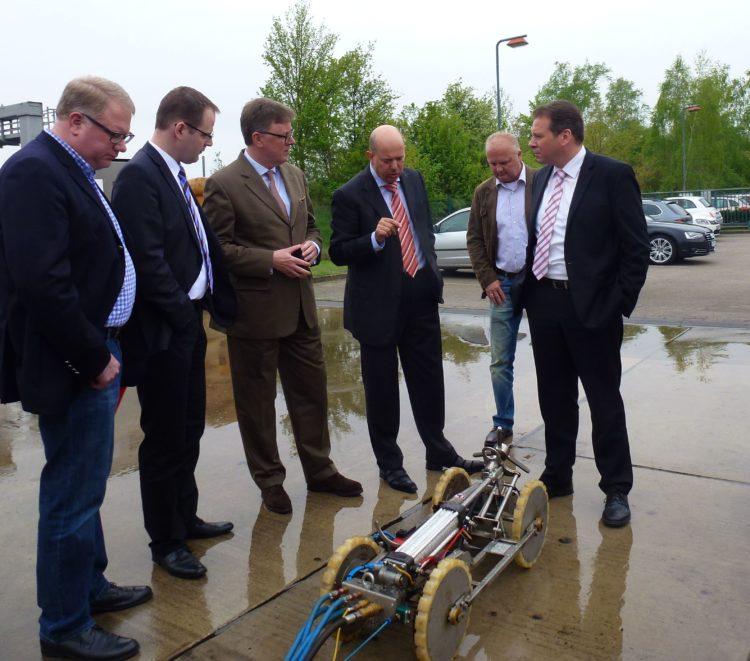 Erfolgreiche Mittelstandsförderung – Unternehmen aus Oyten entwickelt mit Einsatz von Bundesmitteln Tankreinigungsroboter