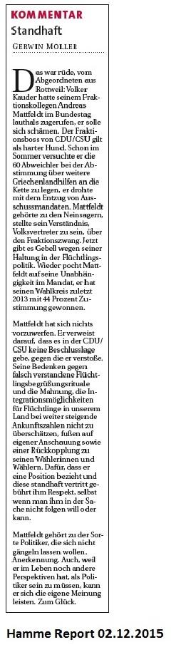 Hamme Report