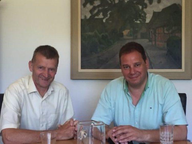 Im Gespräch mit dem Ottersberger Bürgermeister Horst Hofmann